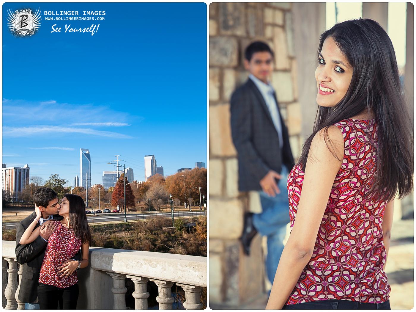 2  Sankett + Deepika's  Engagement Photo Session 2